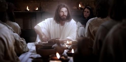 der Auferstandene lehrt seine Apostel und Jünger